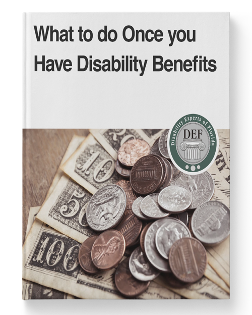 What to do Once you Have Disability Benefits