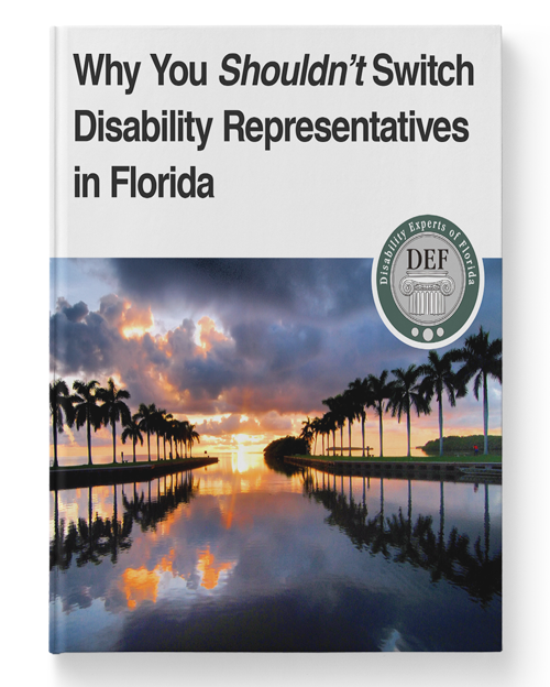 Why You Shouldn't Switch Disability Representatives in Florida