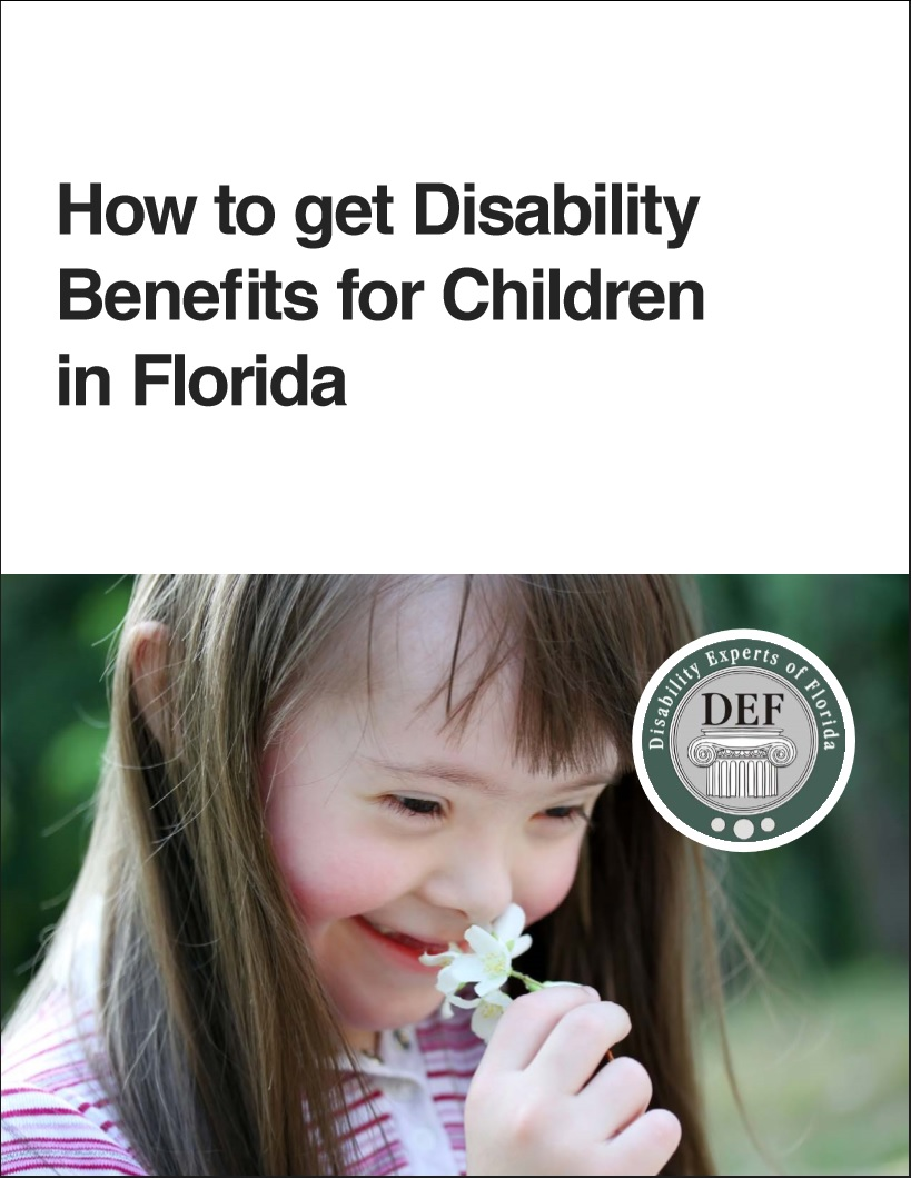 How to get Disability Benefits for Children in Florida