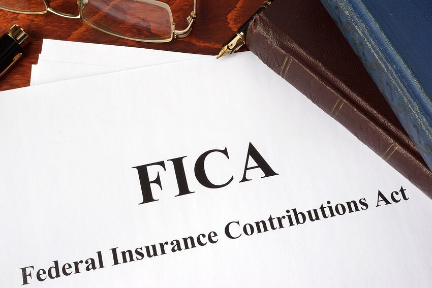FICA is a tax provision that funds the Social Security Disability program, among other federal programs.
