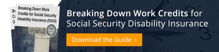 Breaking Down Work Credits for Social Security Disability Insurance Guide
