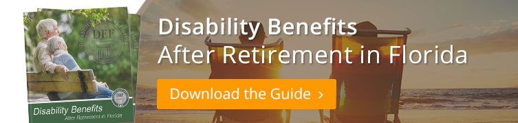 Disability Benefits After Retirement in Florida